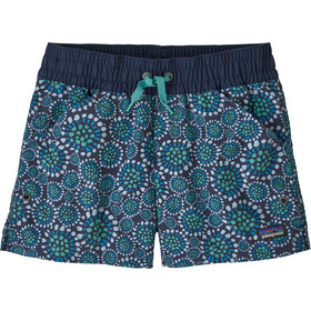 Patagonia Costa Rica Baggies Shorts Girls tencel bloom/new navy